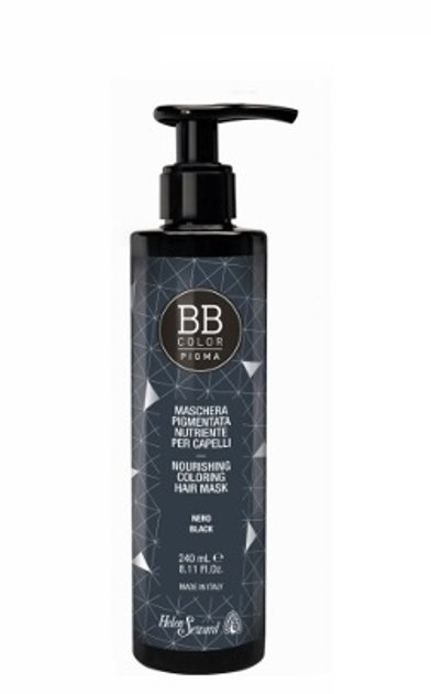 BB Pigma barojoša tonējošā matu maska 240ml Melns 10