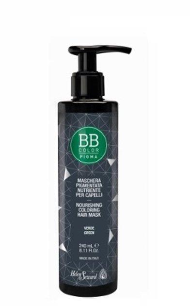 BB Pigma barojoša tonējošā matu maska 240ml Zaļš 113