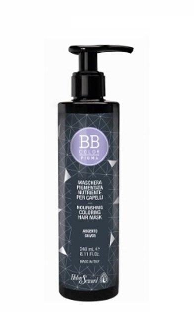BB Pigma barojoša tonējošā matu maska 240ml Sudraba 008